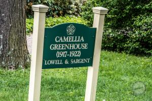 Camellia Greenhouse Entrance