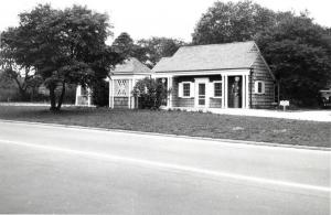 Southern State Parkway Gas Station Circa 1930's